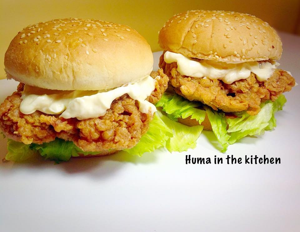 Zinger Burger Recipe Kfc Style At Home With Very Easy 5 Steps
